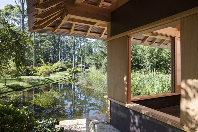Pirramimma Garden Pavilion by CAB Consulting.