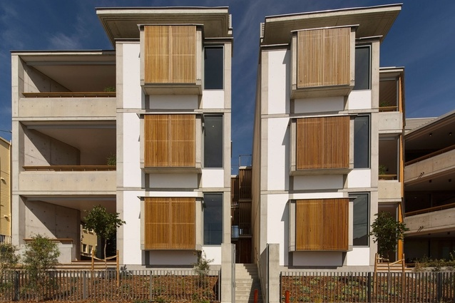 Multiple Housing Award: 29–35 Prince Street, Cronulla by Candalepas Associates.