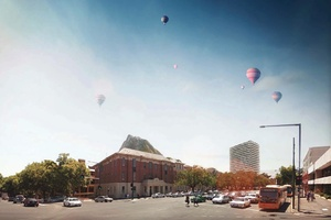 Royal adelaide hospital competition shortlist architectureau for 227 north terrace adelaide