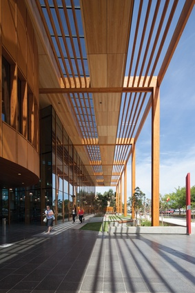 Melton Library and Learning Hub by Francis-Jones Morehen Thorp (FJMT).