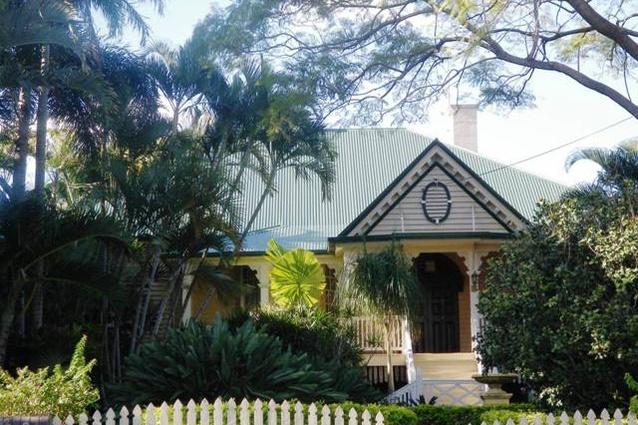 388 Bowen Terrace in New Farm, Brisbane, designed in 1907 by Robin Dods