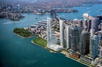 New visions of Renzo Piano's Barangaroo tower trio unveiled