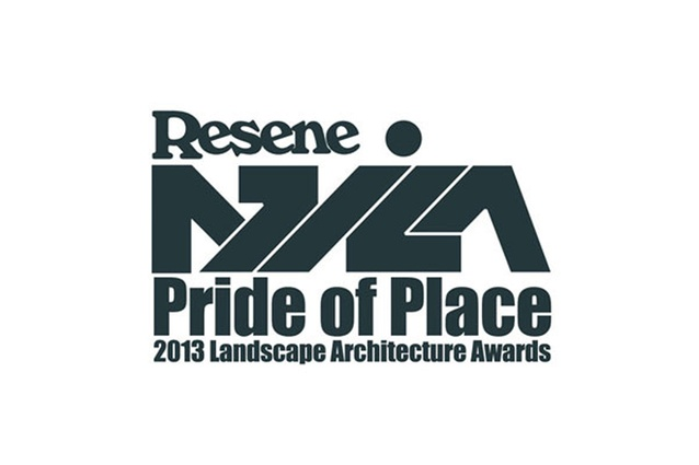 NZILA Resene Pride of Place Landscape Architecture Awards 2013