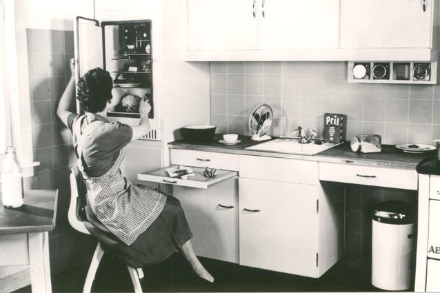 The Frankfurt Kitchen by Margarete Schütte-Lihotzky.