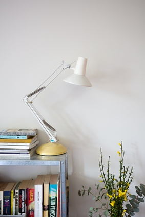 "Anglepoise lamps: ""I have loads of these dotted around the house, picked up from second-hand stores around Wellington. I enjoy patching them up and giving them a bit of a clean."""