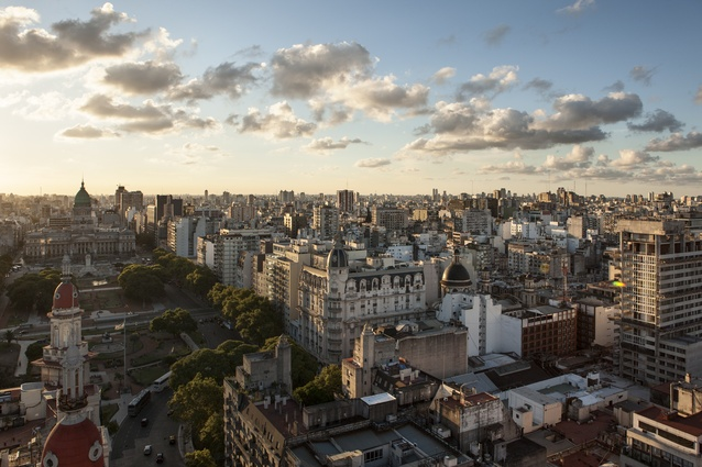 Buenos Aires from the top of Palacio Barolo.