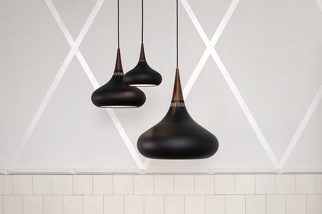 Danish lighting company Lightyears has released its Orient pendant in a new matt black aluminium finish.