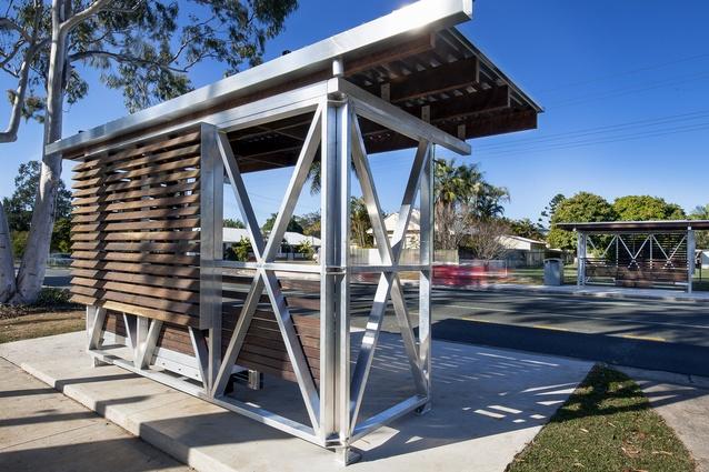 Noosa Coastal Bus Shelter by Majstorovic Architecture.