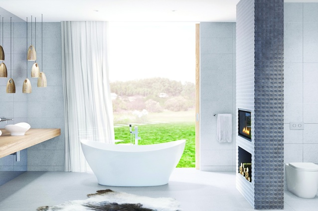 The Cupid bathroom collection from Caroma.