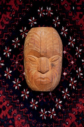 "Parata carving. ""This piece is too amazing. It's by a Ngaruawahia artist I met through my best friend at the end of last year. I don't know, but maybe it heralded a new beginning."""
