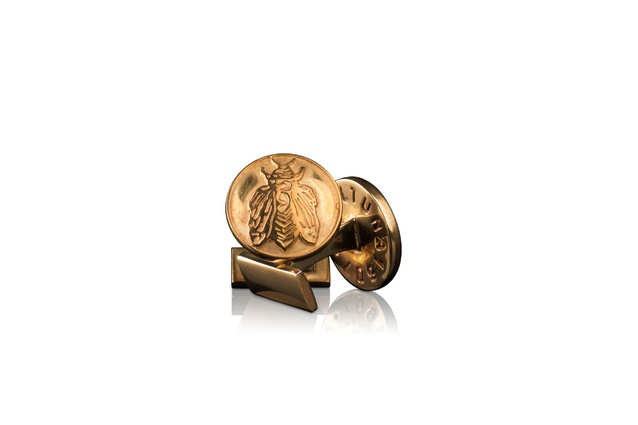 Brass cufflinks by Skultuna | 