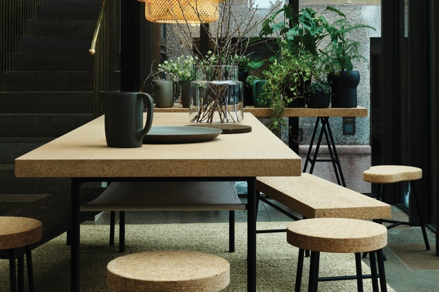 Studioilse created the Sinnerlig range for IKEA, a range of basics using tactile materials such as cork.