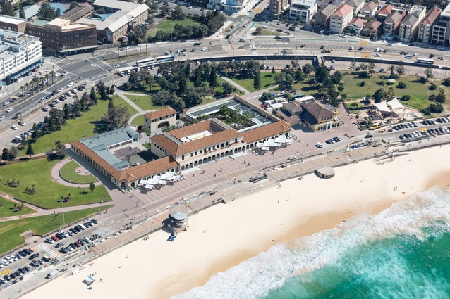 The redevelopment of Bondi Pavilion by Tonkin Zulaikha Greer.