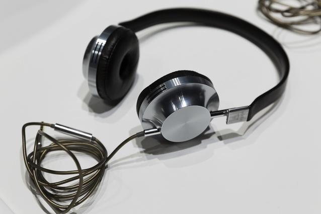 VK-1 headphones for Aëdle, 2011.