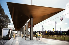 Grimshaw designs light rail stations for Sydney's CBD and south-east