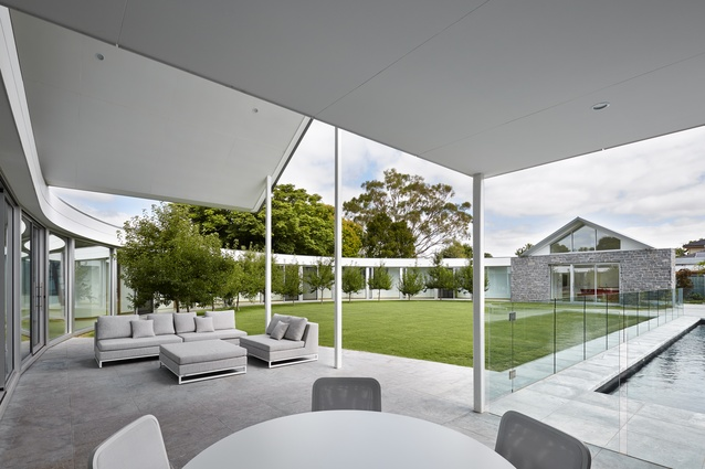 Cardillo House by Max Pritchard Gunner Architects.