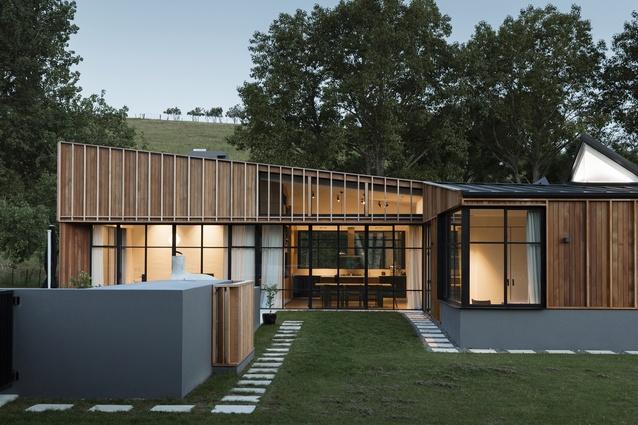 Housing winner: Matakana House by Glamuzina Architects and PAC in association.