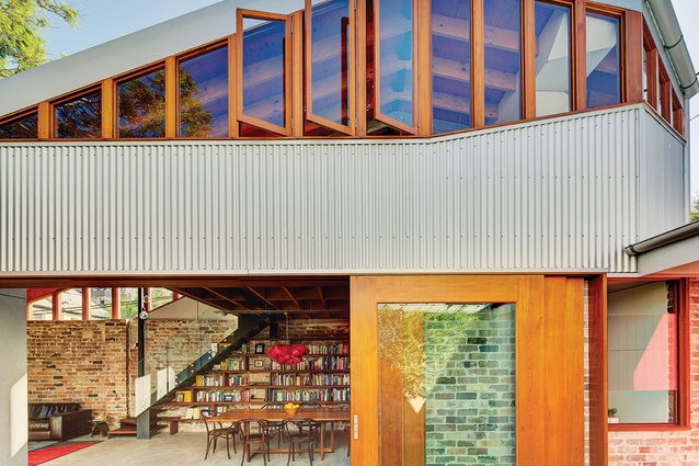 Cowshed House (NSW) by Carterwilliamson Architects.