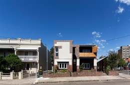 Urban osmosis: Three Marrickville Houses