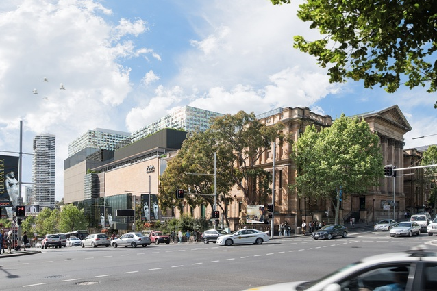 The proposed redevelopment of the Australian Museum, masterplanned by Hames Sharley.