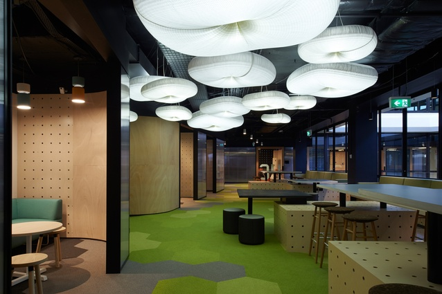 Monash International Bachelor of Business School by Jackson Clements Burrows with Jackson Interiors.