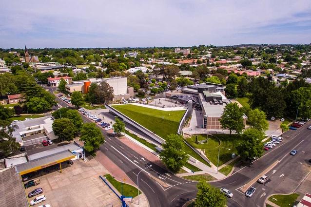 Orange Regional Museum by Crone Architects.