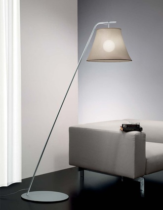 Sunshade floor lamp.