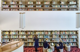 A lyrical labyrinth: Research Learning Centre