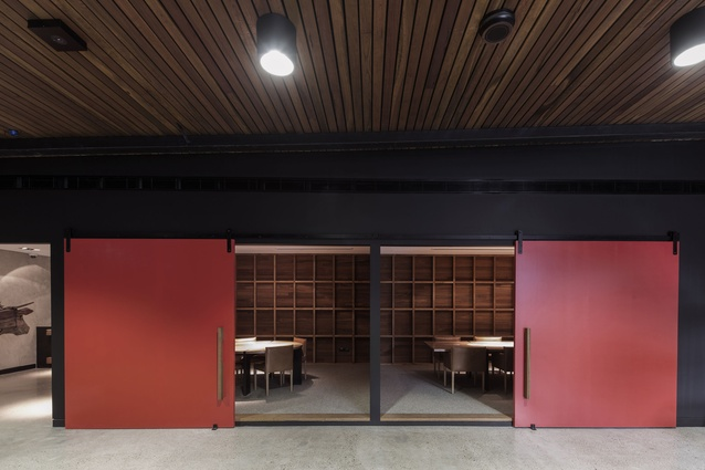 Vic's Meat Office by Those Architects End of Work