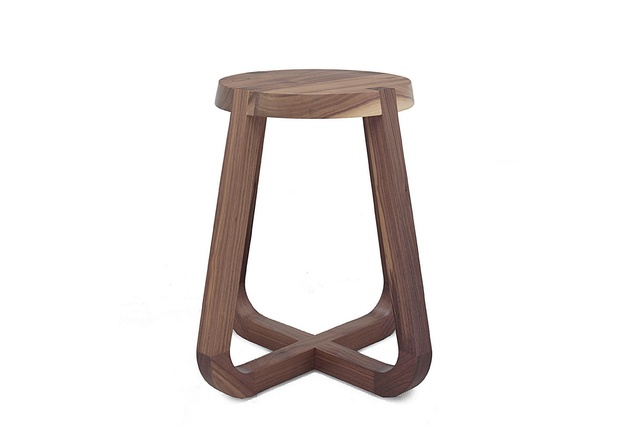 A stool from the Jade collection by Zuster.