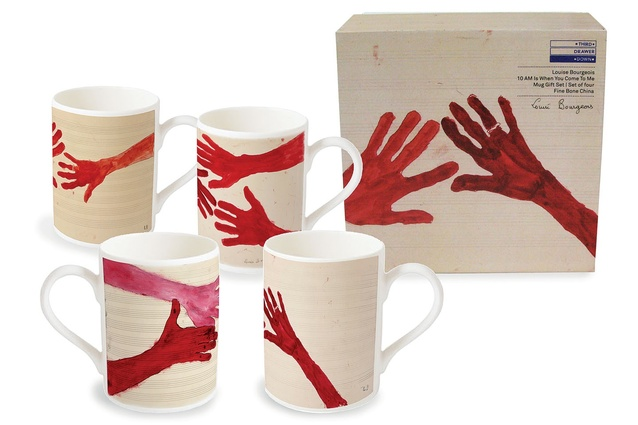 A mug gift set developed for the Tate Modern Louise Bourgeois collection.