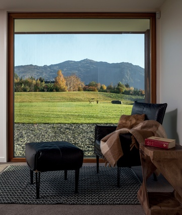 Triple glazing means large picture windows could be incorporated into the design.