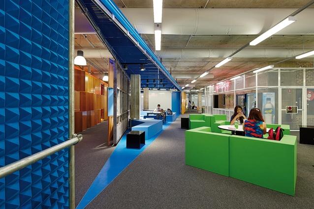 Unconventional Classroom Design : Agitated space muse architectureau