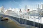 Designs for Swan Street Bridge upgrade unveiled