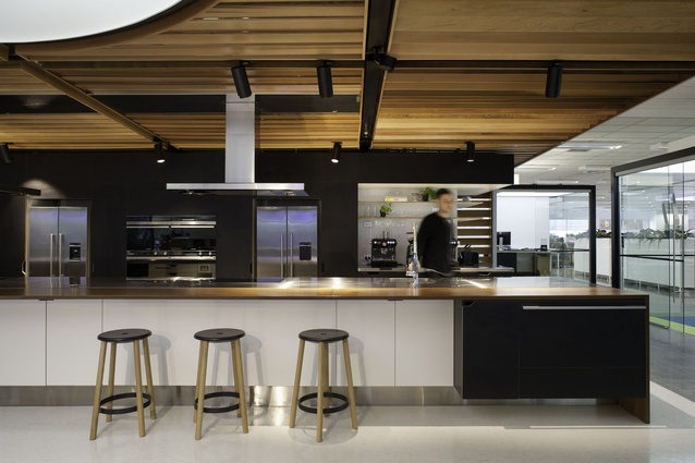 Communal kitchen urbis magazine Kitchen design course auckland