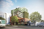 MGS Architects designs VincentCare homeless housing project in Melbourne