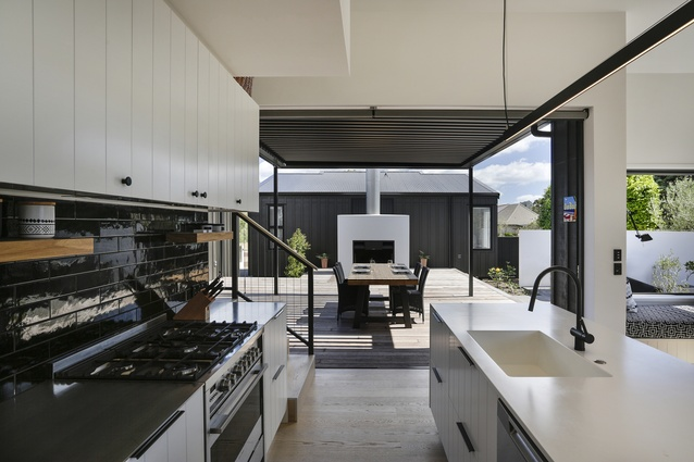 Housing winner: Pauanui Bach by Leuschke Kahn Architects.
