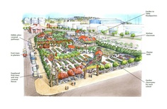 Plans for an edible garden on Auckland's waterfront