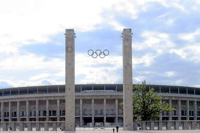 Reich Stadium by Werner March and Walter March, 1936.