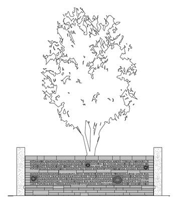 Story wall drawing.
