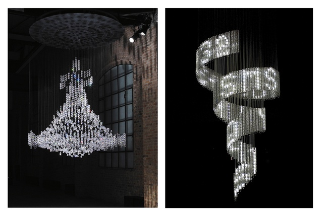 Left: Pandora by Fredrikson Stallard. Right: Lolita by Ron Arad.
