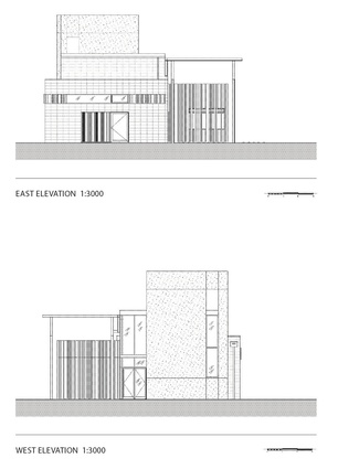 East and West elevation.