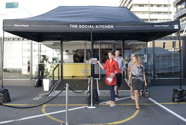 Fisher & Paykel and Alt Group's Social Kitchen.