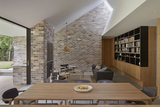 Skylight House by Andrew Burges Architects.