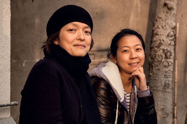 Noriko Daishima and Nicole Teng of Showroom, Shanghai.