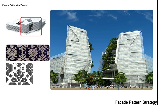 Bronze medal winner: Ecologically designed retail and commercial building, Putrajaya, Malaysia.