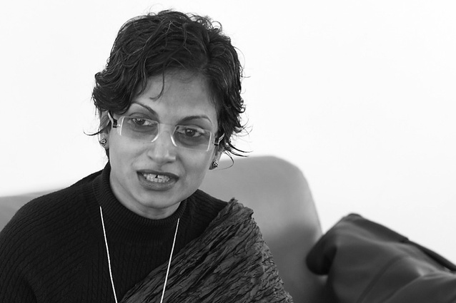 Architect Marina Tabassum, guest speaker at Making 2014 in Perth.