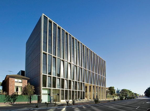 Casting: L5 Building, University of NSW, Kensington, New South Wales (2005) – 2007 RIBA International Award.