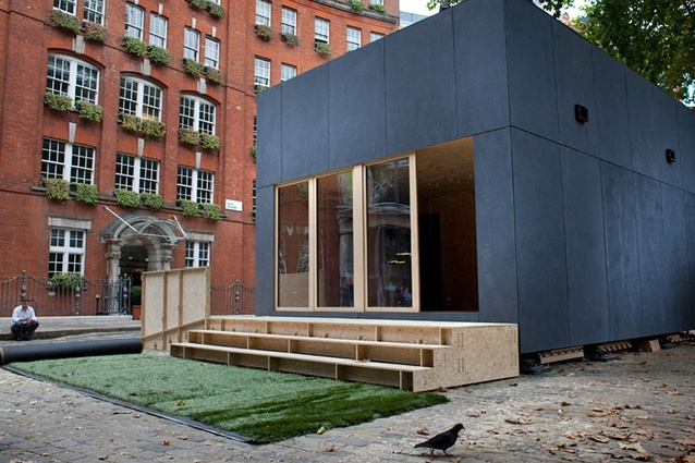 This WikiHouse 4.0 house display model was created by over ten days for the London Design Festival in 2014.