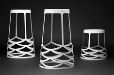La Scala stool by Ute Design